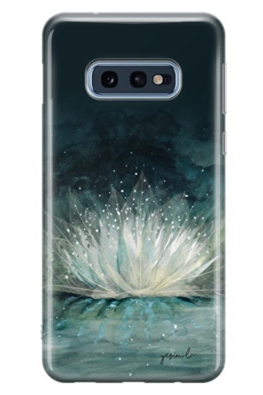 Lopard Samsung Galaxy S10E Kılıf Nilüfer Kapak Renkli